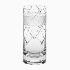 Handgemachtes irisches No V Longdrinkglas aus Kristallglas von Scholten & Baijings für J. HILL's Standard