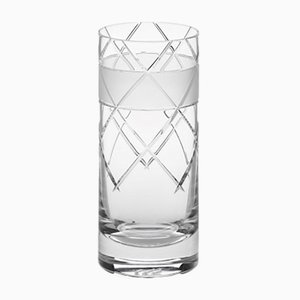 Irish Handmade Crystal No V Hi-Ball Glass by Scholten & Baijings for J. HILL's Standard