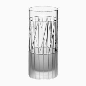 Handgemachtes irisches No VI Longdrinkglas aus Kristallglas von Scholten & Baijings für J. HILL's Standard