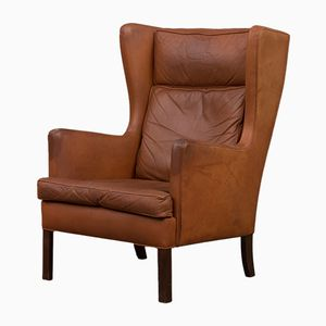 Vintage Danish Wingback Chair