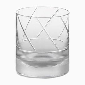 Bicchiere Tumbler nr. IV in cristallo fatto a mano di Scholten & Baijings per J. HILL's Standard, Irlanda