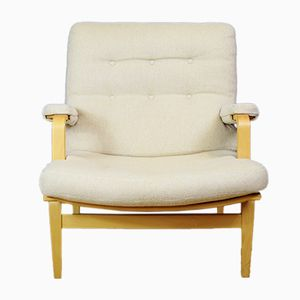 Mid-Century Swedish Ingrid Chair by Bruno Mathsson for Dux, 1970s
