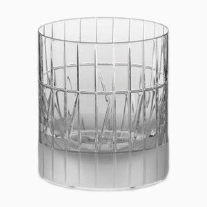 Bicchiere Tumbler nr. VI in cristallo fatto a mano di Scholten & Baijings per J. HILL's Standard, Irlanda