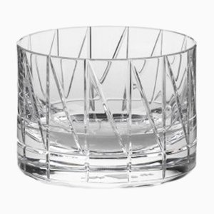 Bicchiere Tumbler corto nr. IV in cristallo fatto a mano di Scholten & Baijings per J. HILL's Standard, Irlanda