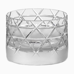 Bicchiere Tumbler corto nr. V in cristallo fatto a mano di Scholten & Baijings per J. HILL's Standard, Irlanda