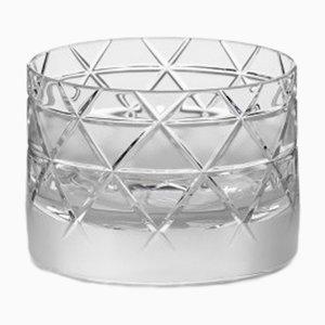Kurzes handgemachtes irisches No V Whiskyglas aus Kristallglas von Scholten & Baijings für J. HILL's Standard