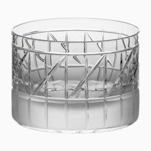 Bicchiere Tumbler corto nr. VI in cristallo fatto a mano di Scholten & Baijings per J. HILL's Standard, Irlanda