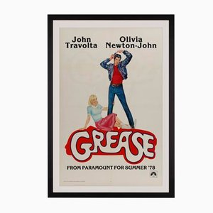 Affiche de Film Grease US par Linda Fennimore, 1978