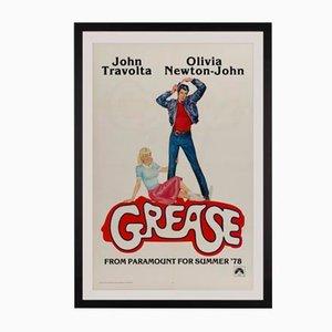 Póster de la película estadounidense Grease de Linda Fennimore, 1978