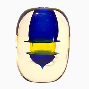 Sommersi Collection Vase von Angelo Barbini, 1978