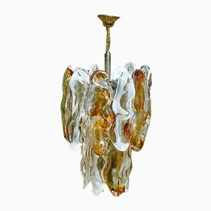 Chandelier in Variegated Murano Glass by J. T. Kalmar, 1960s