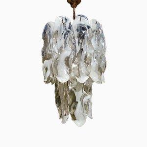 Lampada da soffitto in vetro di Murano di J. T. Kalmar, anni '70
