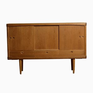 Vintage Oak Highboard by H.W Klein for Bramin