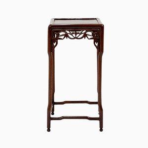 Mesa auxiliar china antigua de palisandro