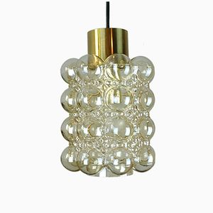 Vintage Bubble Glass Pendant by Helena Tynell for Glashuette Limburg