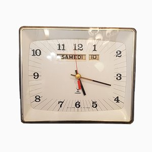 Vintage Ortic Clock from Jaz, 1970s
