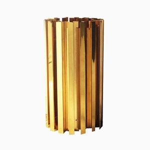 Lámpara francesa de latón, años 70