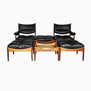 Mid-Century Living Room Set by Kristian Vedel for Soren Willadsen