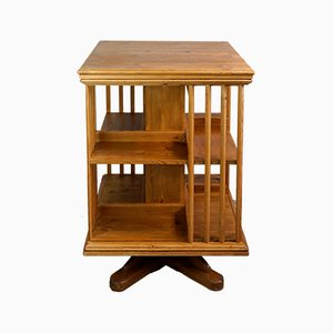 Art Deco Revolving Bookcase