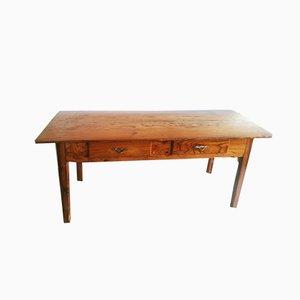 Table de Réfectoire Vintage en Chêne