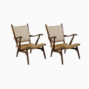 Sessel von De Ster Gelderland, 1950er, 2er Set