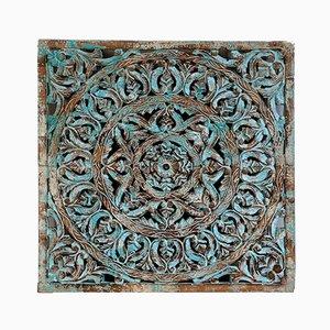 Pannello ornamentale vintage, India