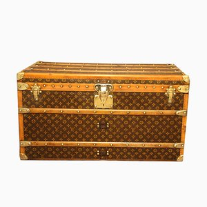 Monogramm Steamer Trunk from Louis Vuitton, 1930s
