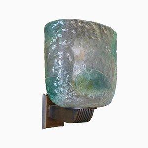 Wandlampe von Seguso, 1970er