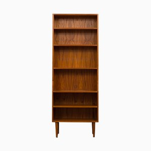 Danish Teak Tall Bookcase, 1970s