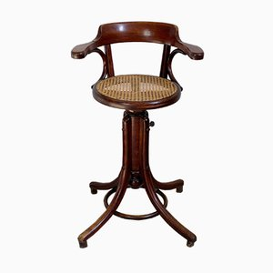Bentwood Height-Adjustable Children's Highchair from Fischel, 1910s