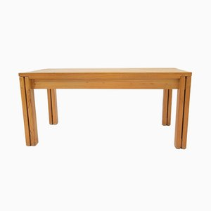 Vintage Solid Elm Dining Table from Regain