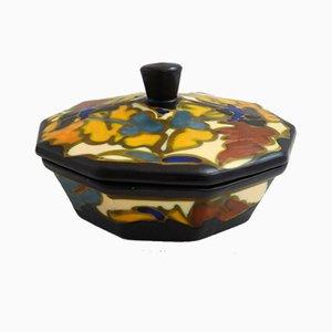 Scatola Decagon vintage di Céramique Montoise de Bergen