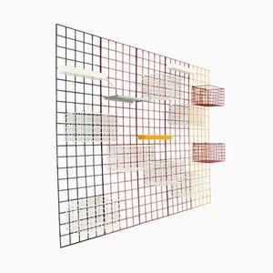 Conjunto de pared de colores de Piero Polato de Robots, años 70
