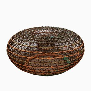 Vintage Metal Crab Basket