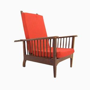 Vintage Scandinavian Art Deco Morris Lounge Chair