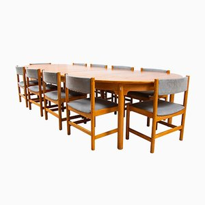 Table de Salle à Manger et Chaises par Børge Mogensen pour Karl Andersson & Söner, 1960s