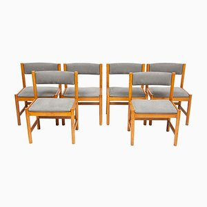 Mid-Century Danish Oak Dining Chairs by Borge Mogensen for Karl Andersson & Söner, Set of 6