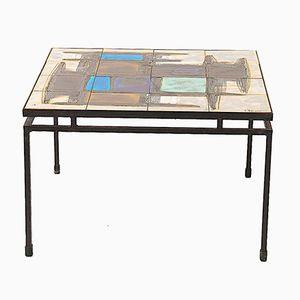 Table Basse en Céramique par Juliette Berlarti, Belgique, 1960s