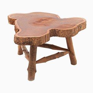 Mesa de centro francesa de madera, años 60