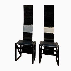 Japanische EDO Stühle von Kisho Kurokawa für PPM Corporation, 1980er, 2er Set