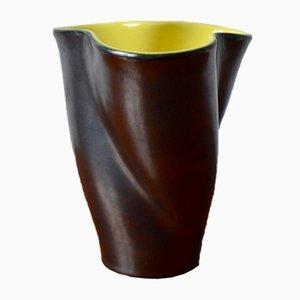 Vintage Vase von Fernand Elchinger für Poterie Elchinger