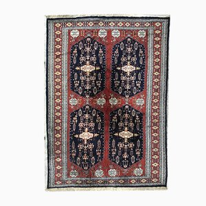 Vintage Pakistan Hand-Knotted Rug