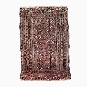 Antiker handgeknüpfter afghanischer Boukhara Teppich