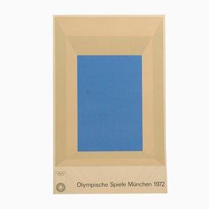 Munich Olympics Poster by Josef Albers, 1972