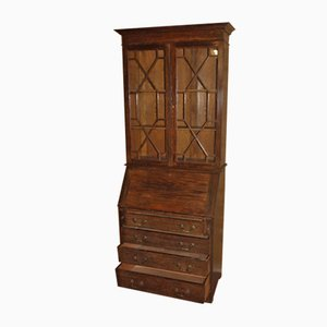 Solid Oak Bookcase, 1920s