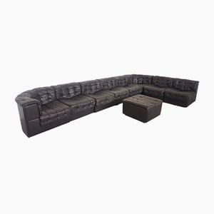 DS11 Modular Patchwork Sofa and Ottoman from de Sede, 1970s