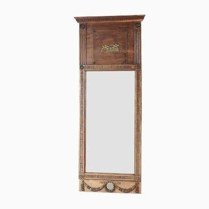 Espejo imperial sueco de madera