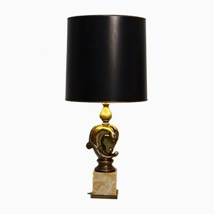 Vintage Horsehead Table Lamp from Deknudt