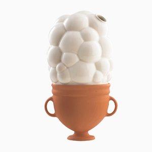 Vaso medio #02 HYBRID bianco di Tal Batit