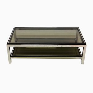 Large Flaminia Coffee Table by Willy Rizzo, 1970s